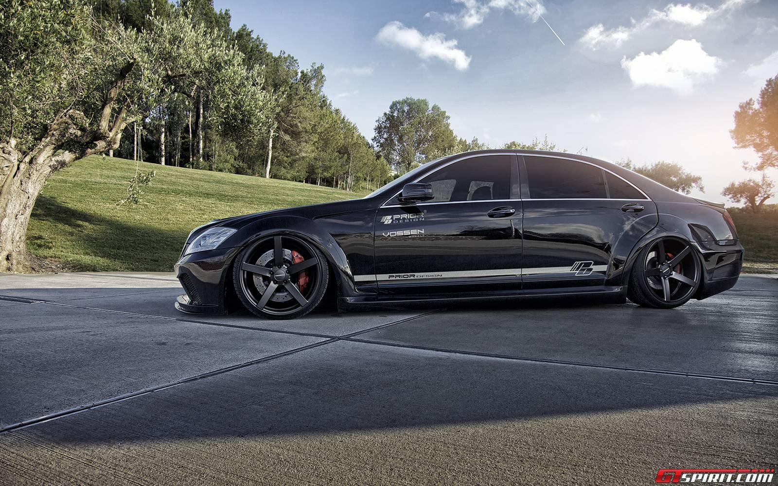 Official mercedes benz s class v2 widebody black edition for Mercedes benz design