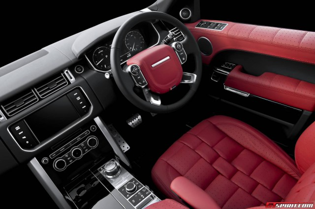 Official Range Rover 600 Le Luxury Edition By A Kahn