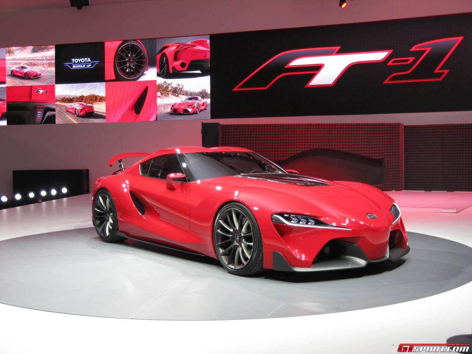 Detroit 2014 Toyota Ft 1 Concept Gtspirit