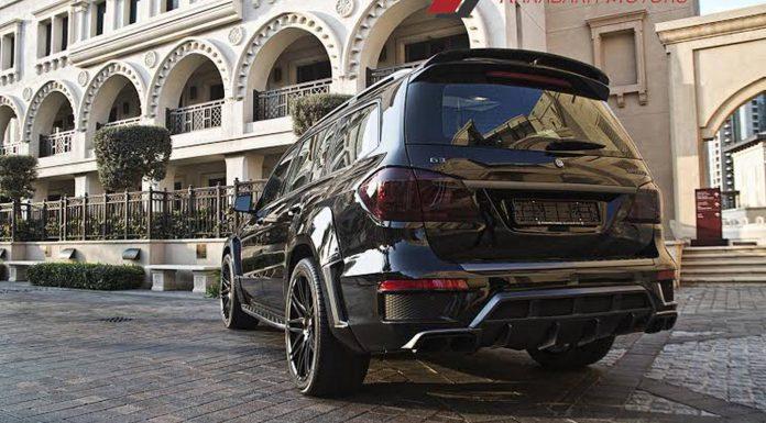 Mercedes-Benz GL 63 AMG Brabus by Karabakh Motors