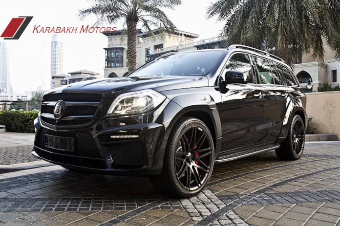 Mercedes-Benz GL 63 AMG Brabus by Karabakh Motors