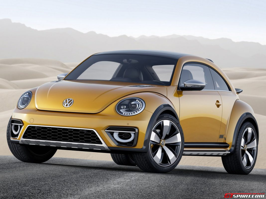 Official: 2014 VW Beetle Dune Concept
