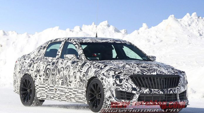 Next-Generation Cadillac CTS-V Spied During Early Testing