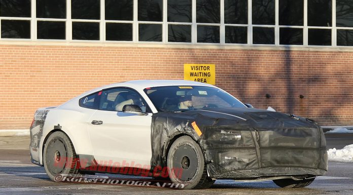 Ford Mustang GT350 Spied With Minimal Camo