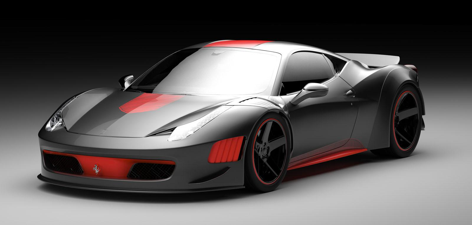 Official Ferrari F458 Curseive By Vogue Auto Design And