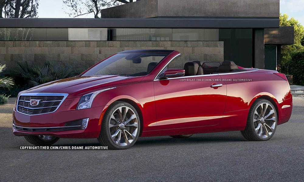 Cadillac ATS Convertible Could Look Like This