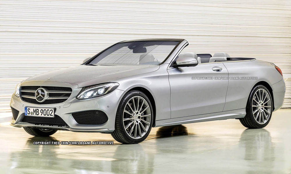 mercedes benz c class cabriolet could be a welcome relief gtspirit. Black Bedroom Furniture Sets. Home Design Ideas