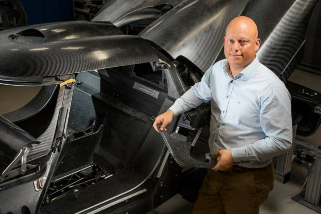 Christian Von Koenigsegg Takes Delivery of Tesla Model S