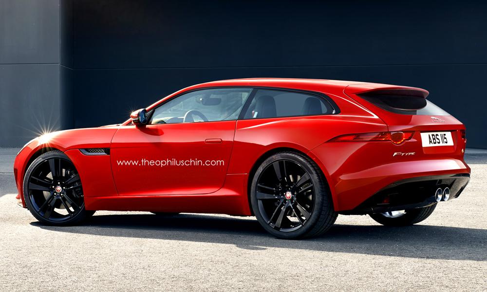 Jaguar F-Type Shooting Brake is Beyond Sexy