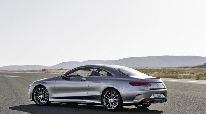 Official: 2015 Mercedes-Benz S-Class Coupé