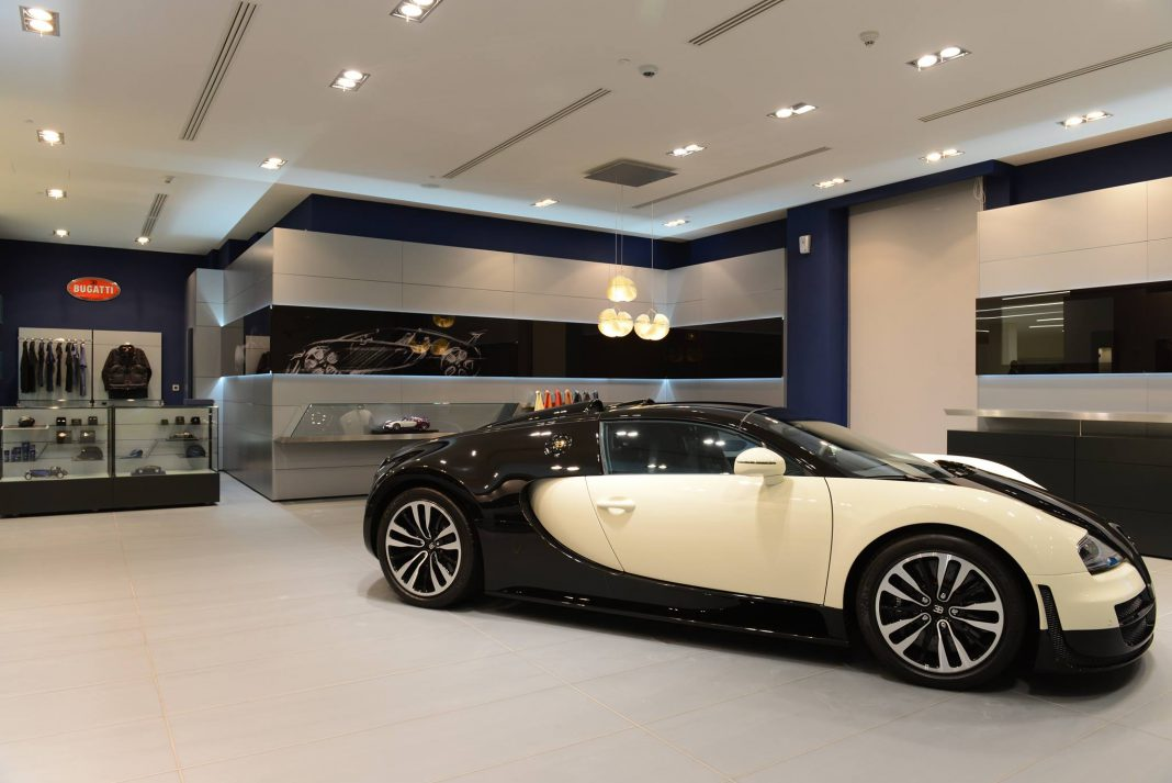 Bugatti Opens New Showroom in Qatar