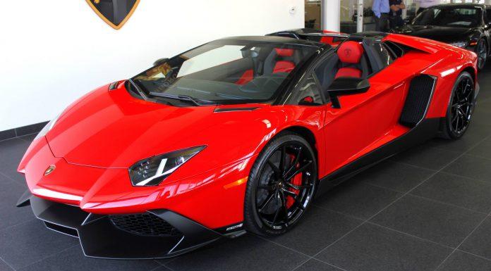 Stunning Rosso Mars Lamborghini Aventador LP720-4 50th Anniversario