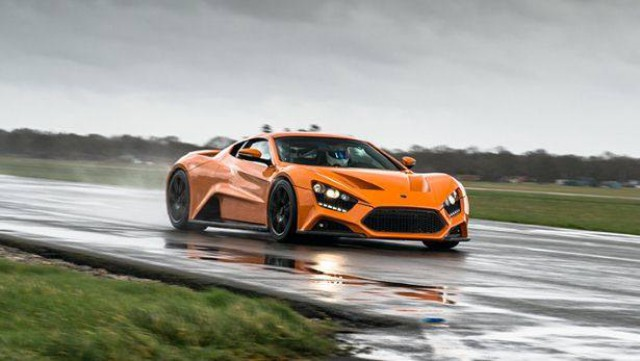 Zenvo ST1 Top Gear