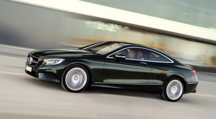First Mercedes-Benz S-Class Coupe Picture Officially Leaks