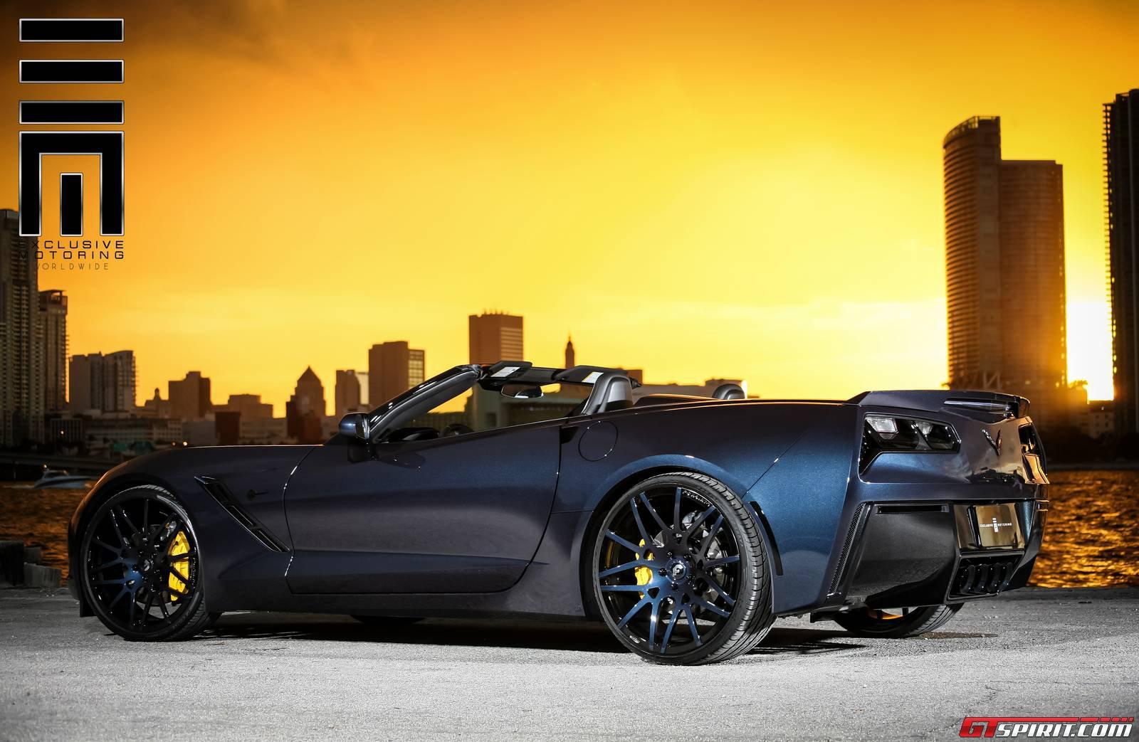 2014 chevrolet corvette stingray convertible by exclusive