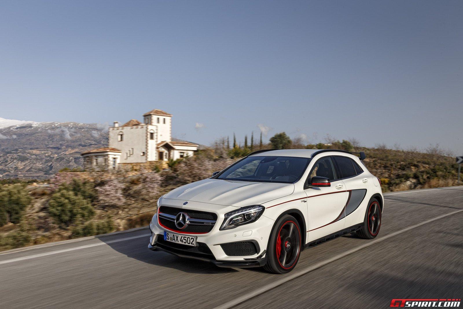Super car mercedes benz gla 45 amg edition 1 for Mercedes benz 2015 gla