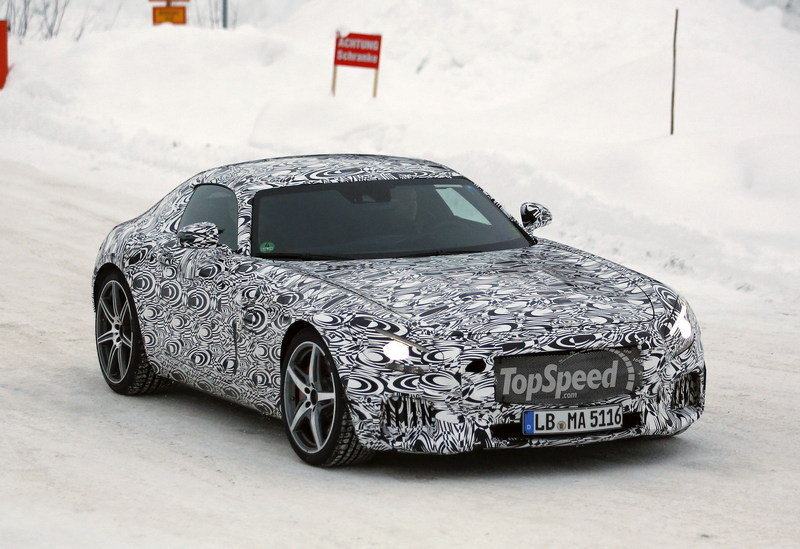 Upcoming 2015 Mercedes-Benz AMG GT Winter Tests