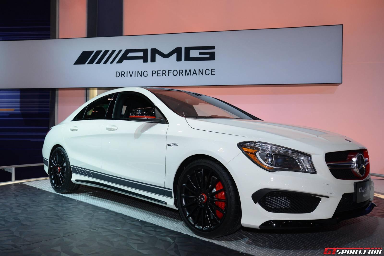 Chicago 2014 mercedes benz cla 45 amg gtspirit for Mercedes benz repair chicago