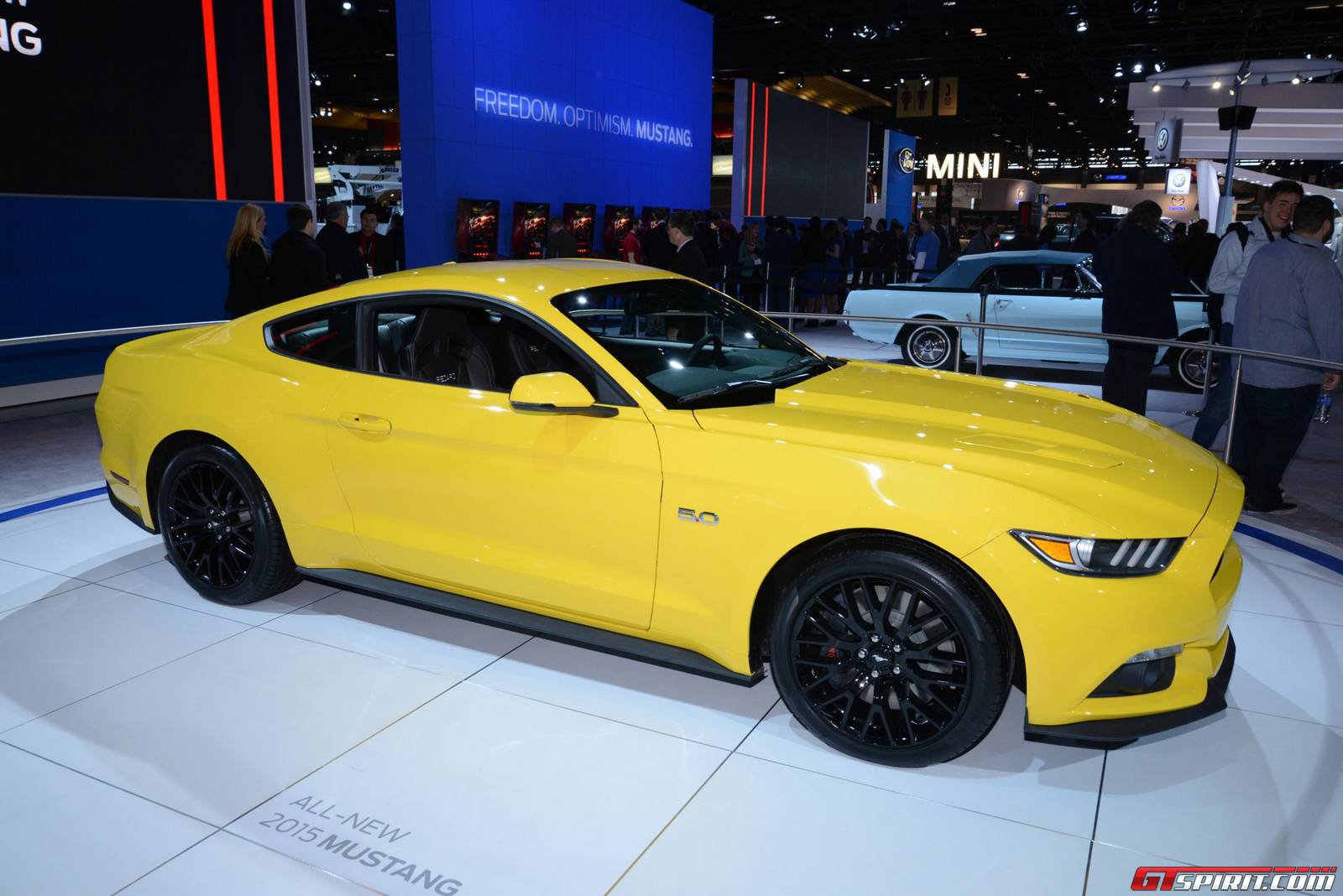 Chicago 2014 2015 Ford Mustang and Shelby GT500  GTspirit