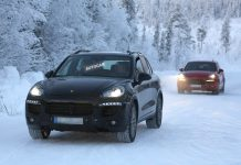 Heavily Facelifted 2014 Porsche Cayenne Spied