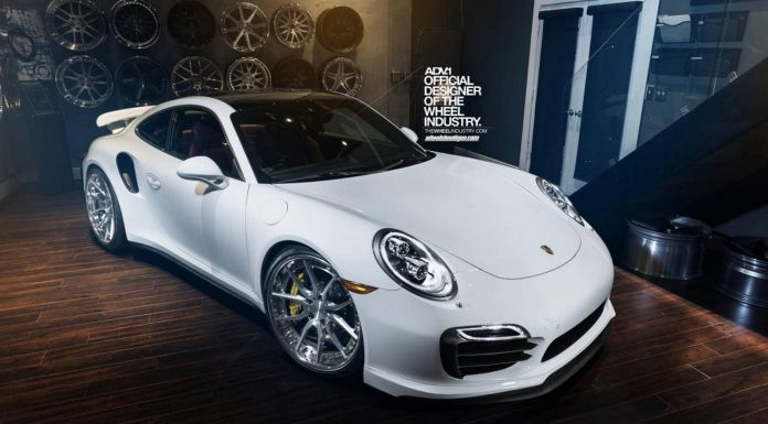 Clean Porsche 911 Turbo S Fitted With ADV.1 Wheels