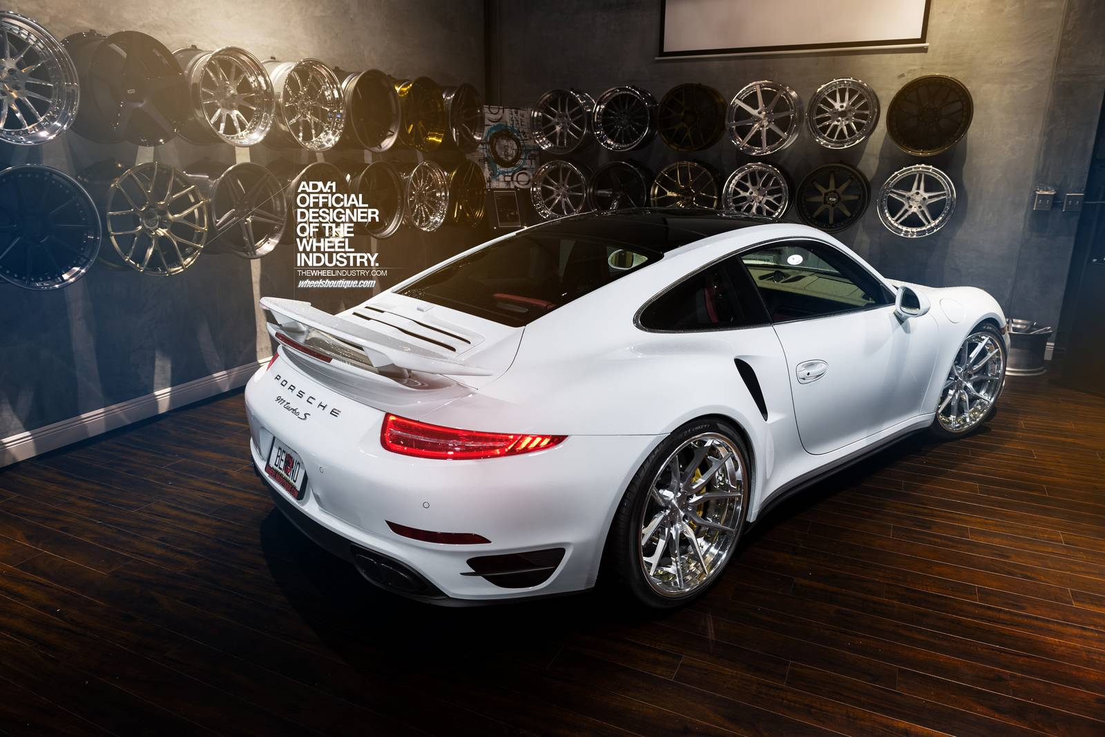 Clean Porsche 911 Turbo S Fitted With Adv 1 Wheels Gtspirit