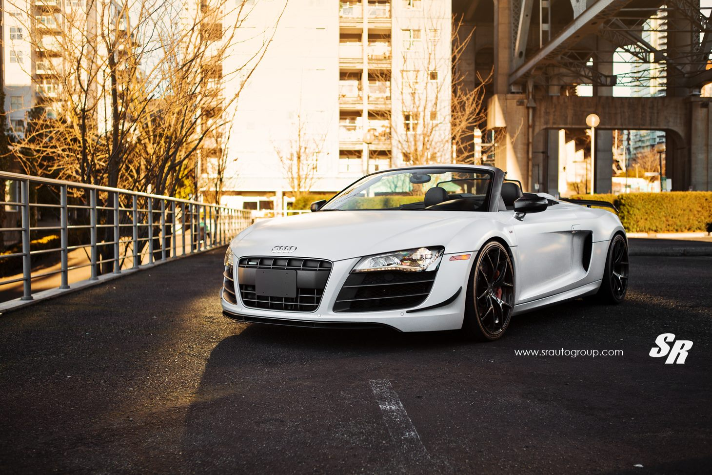 audi r8 gt spyder with black diamond pur wheels gtspirit. Black Bedroom Furniture Sets. Home Design Ideas