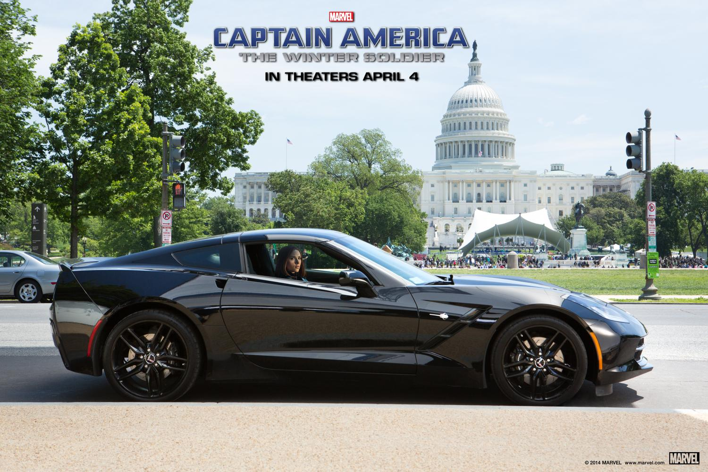 Meet Black Window's Black-on-Black Corvette Stingray - Captain America - GTspirit
