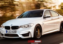 BMW M4 Gran Coupe Rendered