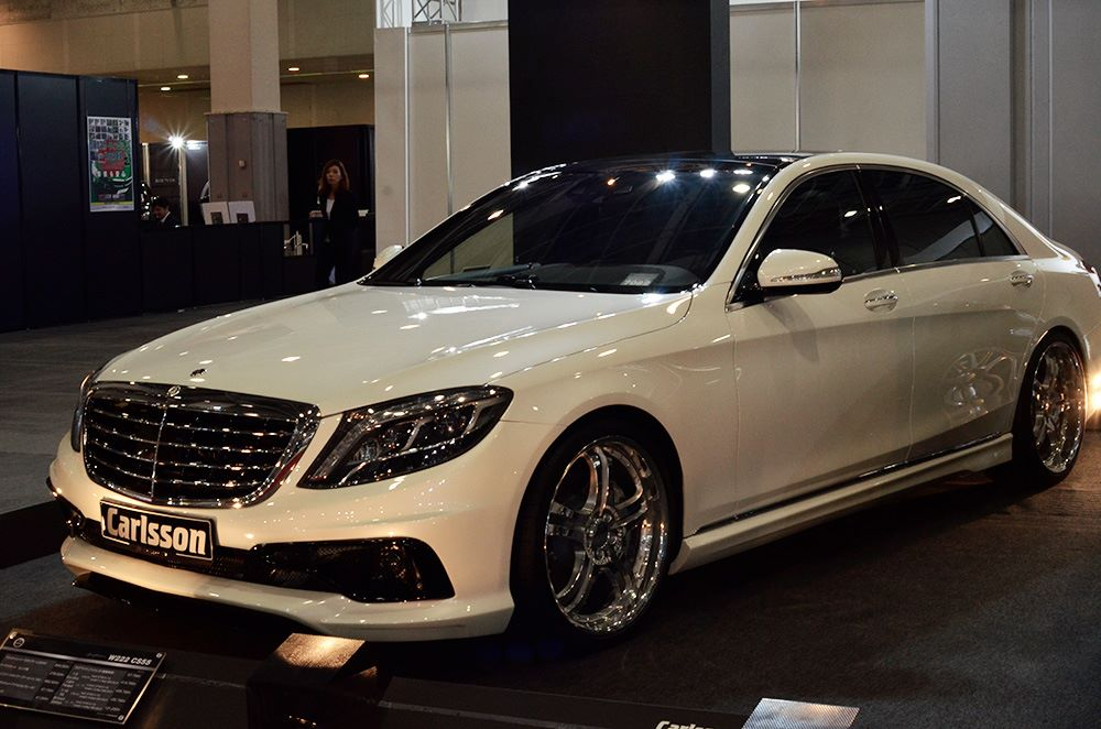 Mercedes benz s class by carlsson at osaka automesse 2014 for 2014 mercedes benz s class