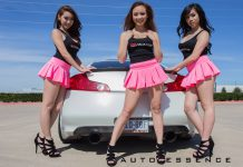 Auto Essence Photoshoot with Three Hot Models