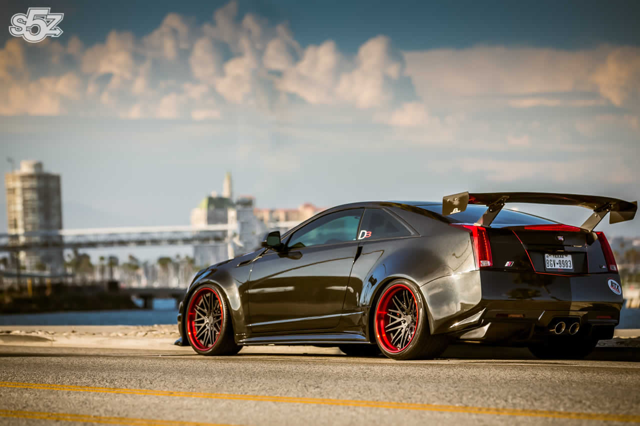 Official Cadillac Cts V Coupe By D3 Cadillac Gtspirit
