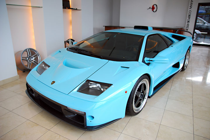 Ice Blue 2001 Lamborghini Diablo Gt For Sale In Japan Gtspirit