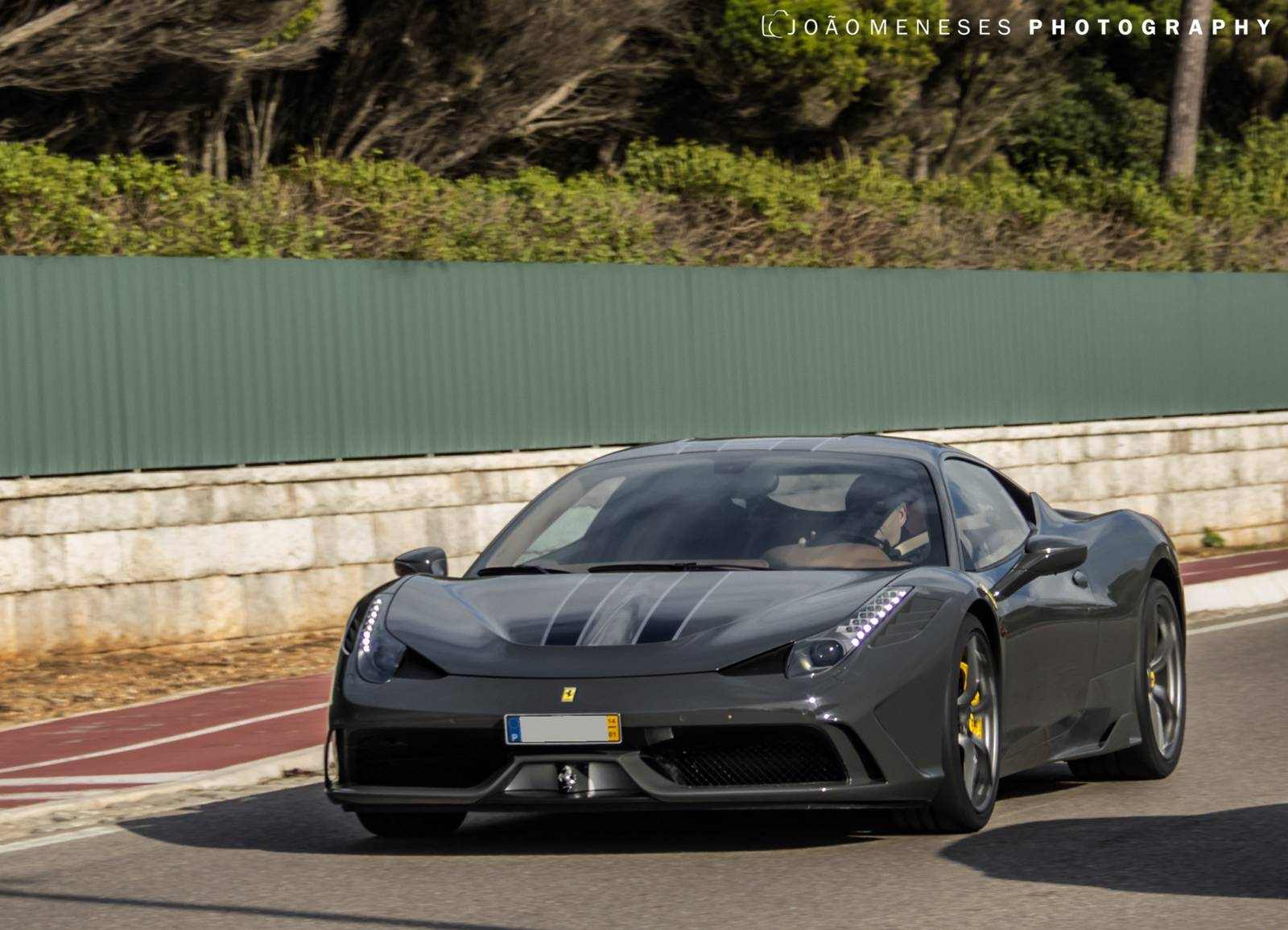 Photo Of The Day Grey Ferrari 458 Speciale In The Wild Gtspirit