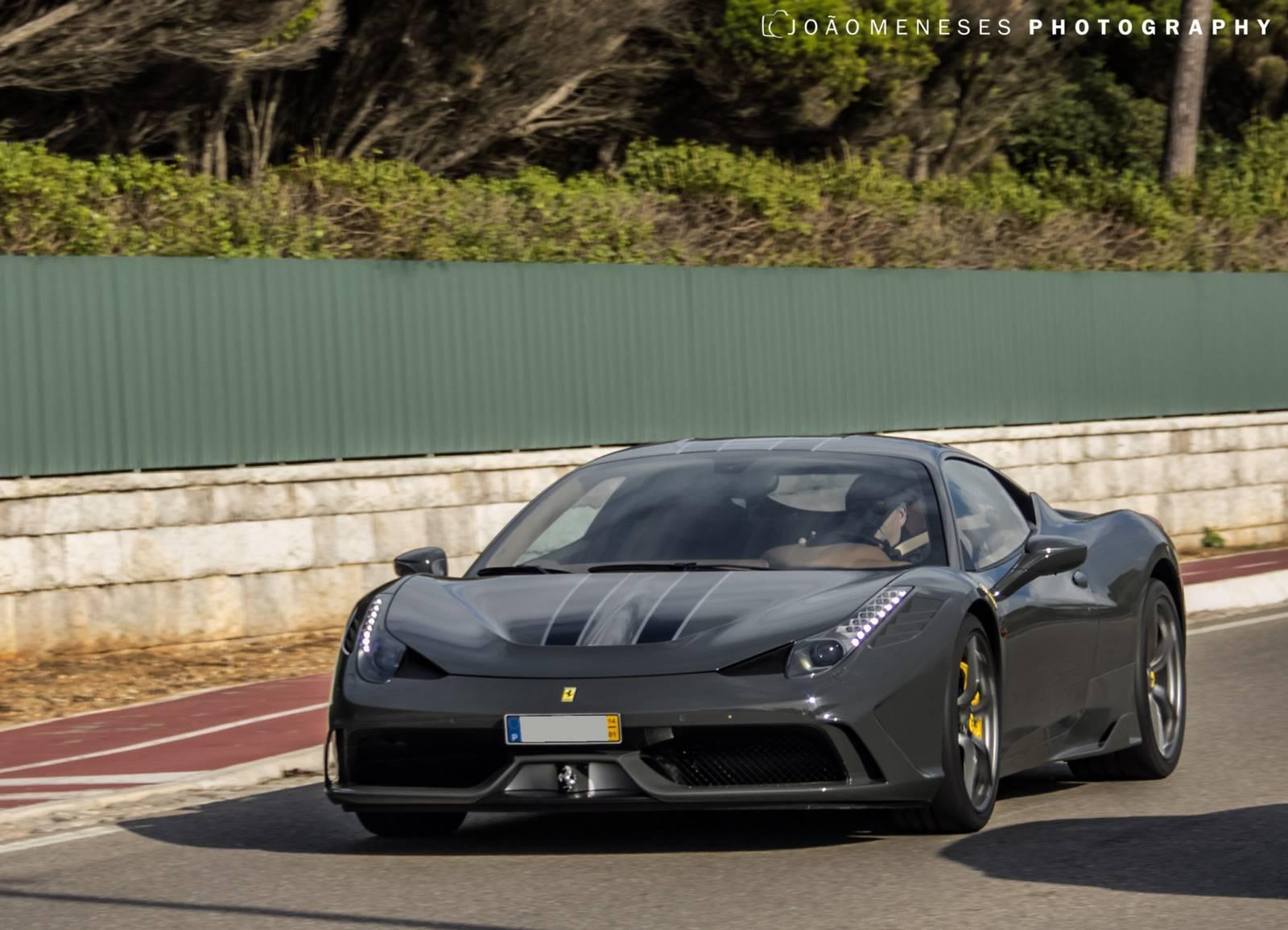 2014 Ferrari 458 Italia Grey