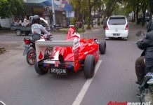 Ferrari F1 Replica Car in Indonesia