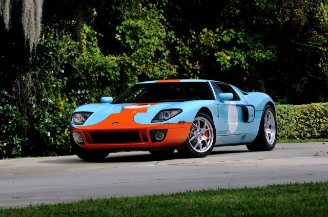 Mecum Auctions Ford GT Heritage Edition