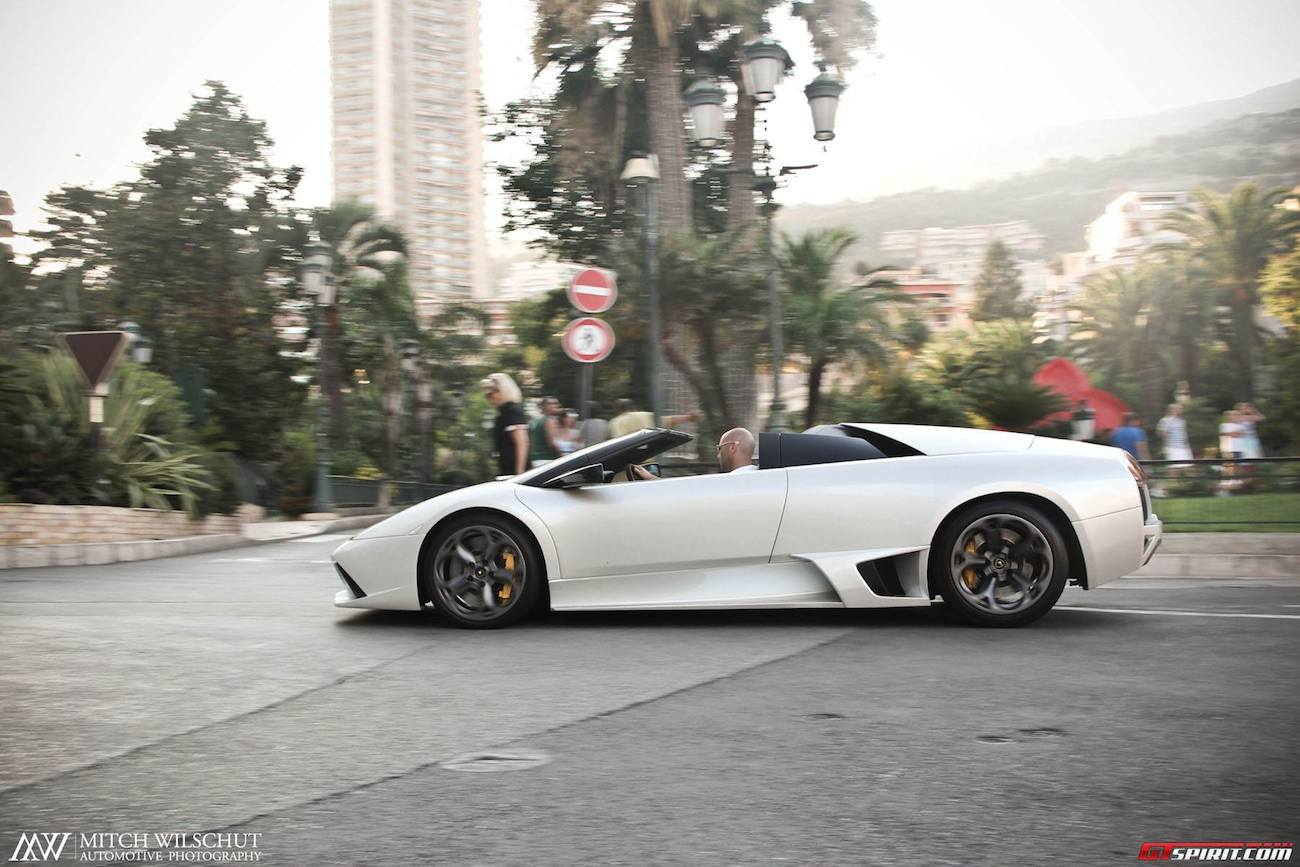Photo Of The Day Lamborghini Murcielago Lp640 Roadster In Monaco
