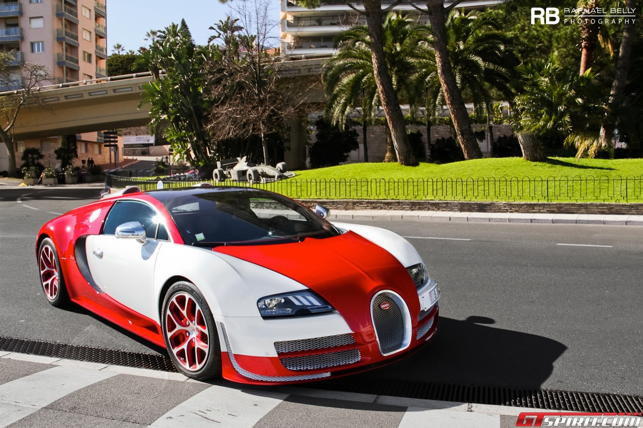 spotted fabulous bugatti veyron grand sport vitesse in monaco gtspirit. Black Bedroom Furniture Sets. Home Design Ideas