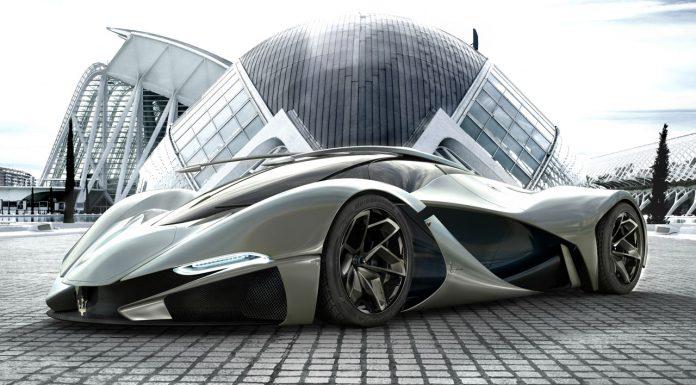 Maserati LaMaserati Envisaged by Designer