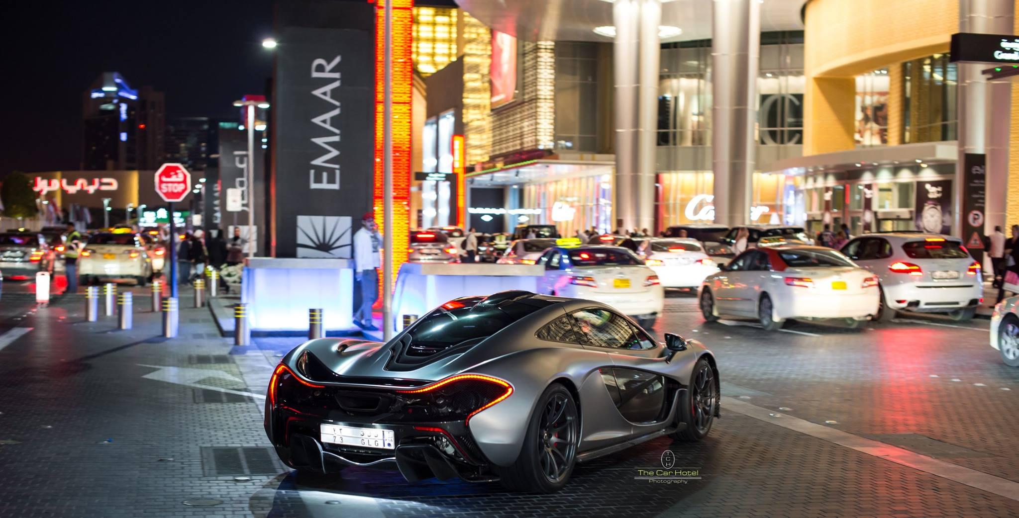 McLaren P1 Dubai