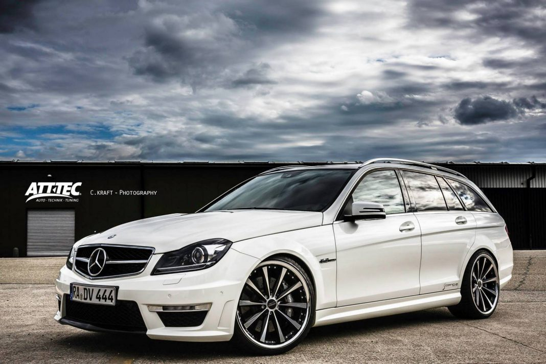 Mercedes benz c 63 amg estate by att tec gmbh gtspirit for Mercedes benz of hoffman estates