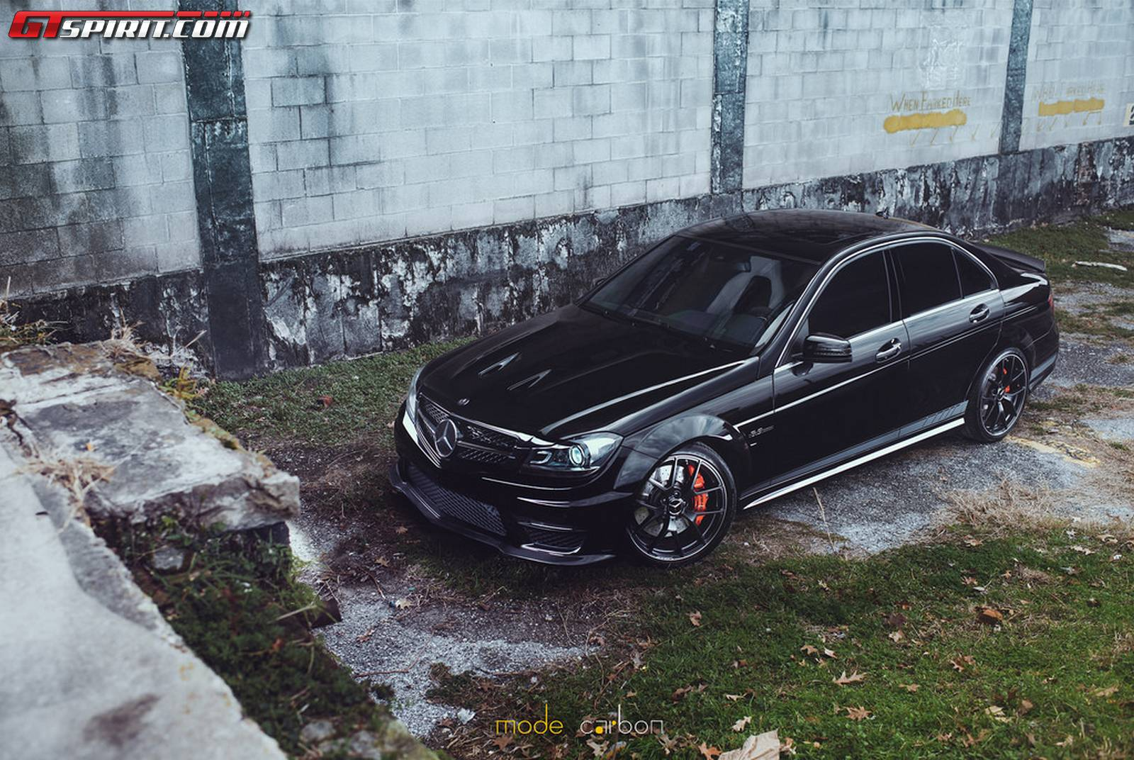Obsidian Black Mercedes Benz C63 Edition 507 By Mode Carbon Gtspirit