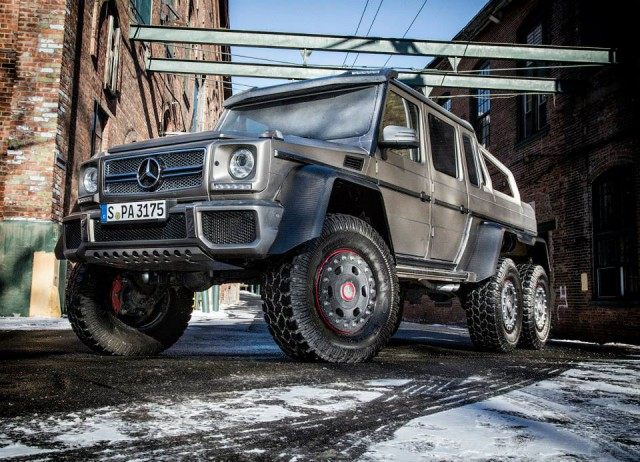 Mercedes benz g 63 amg 6x6 arrives in the us gtspirit for Mercedes benz g63 6x6 for sale