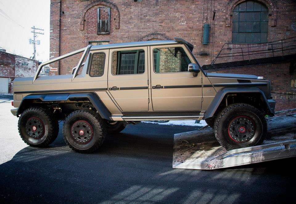 Mercedes benz g 63 amg 6x6 arrives in the us gtspirit for Mercedes benz g 63 amg 6x6