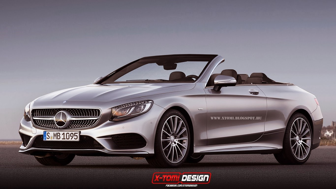 2015 mercedes benz s class already imagined as convertible gtspirit. Black Bedroom Furniture Sets. Home Design Ideas