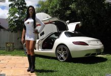 Mercedes-Benz SLS AMG and Brazilian Model