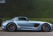 One-Off Mercedes SLS Black Series (Yosemite blue)