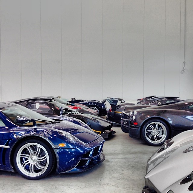 Spotted: Fourth Pagani Huayra Destined For The US Market