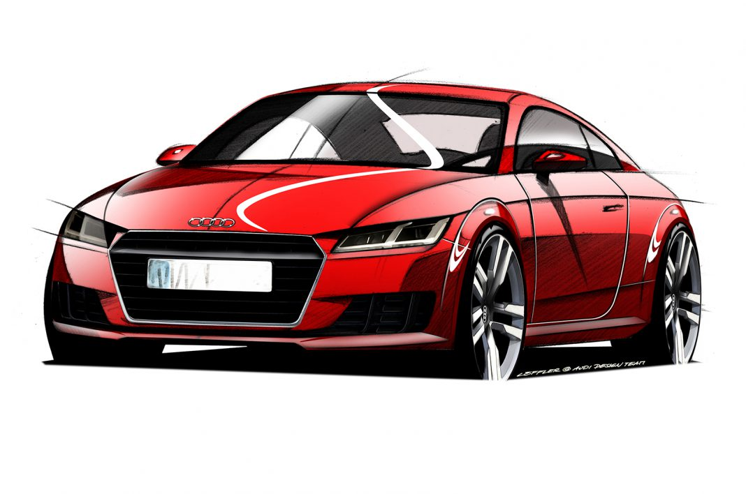 Are These Official 2015 Audi TT Drawings?
